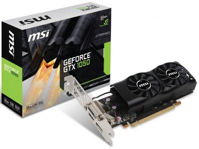 Вслед за GeForce GTX 1050 Ti компания MSI сделала низкопрофильный вариант GeForce GTX 1050