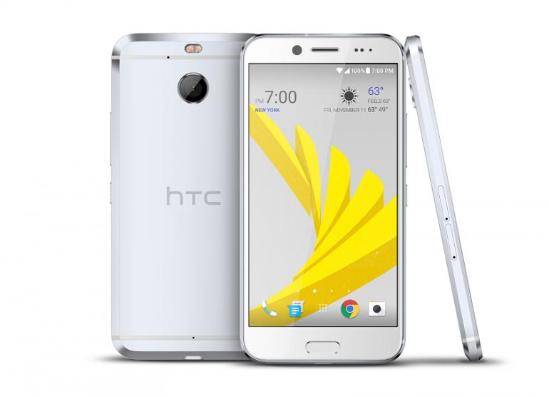 HTC випустила смартфон Bolt без 3,5-мм звукового роз'єму, але з захистом від води