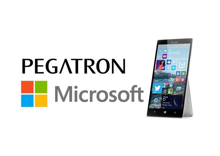 Pegatron готовится приступить к пробному выпуску смартфонов Microsoft Surface Phone