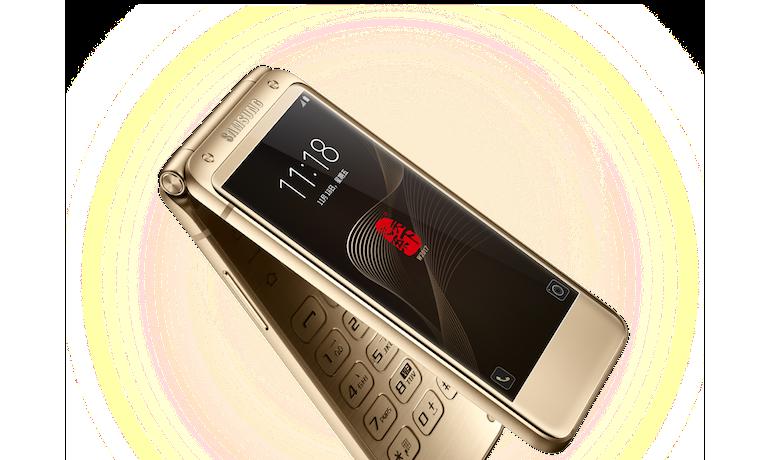 Мощнейший смартфон-раскладушка Самсунг W2017 представлен официально