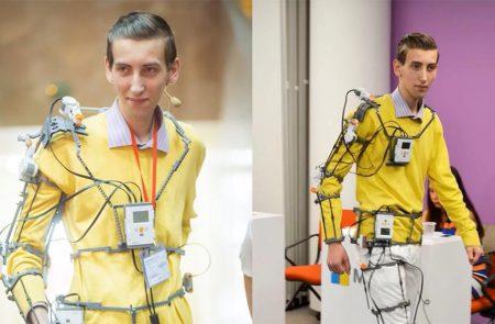 Экзоскелет UniExo 22-летнего киевлянина выиграл награду Robohub Reader's Pick международного конкурса Silicon Valley Robotics