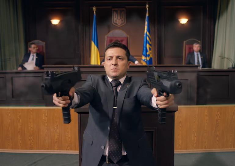 Савченко предложила актёру Зеленскому баллотироваться впрезиденты Украины