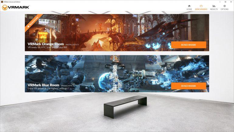 Futuremark выпустила бенчмарк для систем виртуальной реальности VRMark