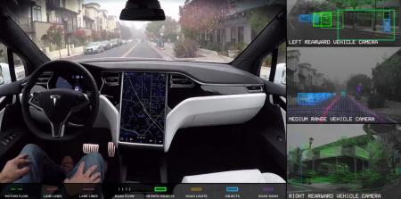 Илон Маск опубликовал две версии видео с демонстрацией работы автопилота Tesla — под музыку из «Шоу Бенни Хилла» и Rolling Stones