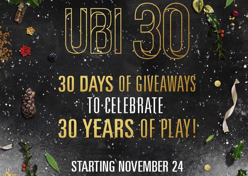 30 дней подарков ubi 50