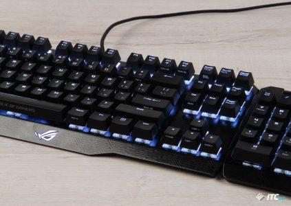 Обзор игровой механической клавиатуры ASUS ROG Claymore