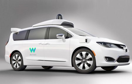 Waymo показала модифицированный самоуправляемый минивэн Chrysler Pacifica