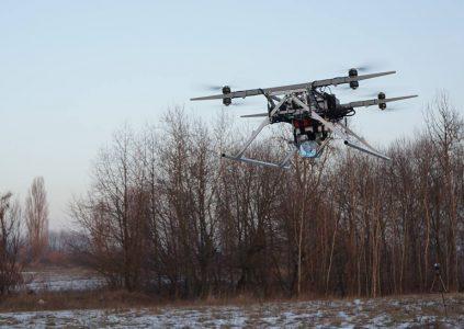 Украинские разработчики из Matrix-UAV увеличили грузоподъемность своего БПЛА до 20 кг, в планах – 50 кг