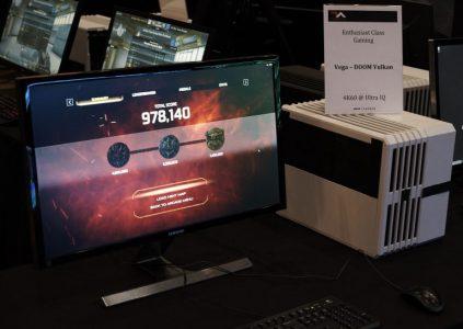 Видеокарта AMD с архитектурой Vega обеспечивает более 60 кадров в секунду в Doom при настройках Ultra и разрешении 4K