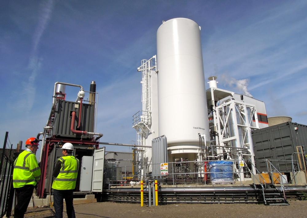 НаБританских островах заработала крупнейшая вмире криогенная электростанция