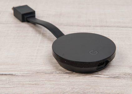 Обзор медиаплеера Google Chromecast Ultra