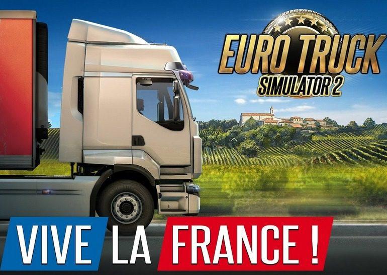 Euro Truck Simulator 2 – Vive la France!: новая Франция