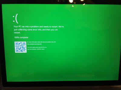 Новости Windows 10: зеленый экран смерти в бета-версиях и специальный игровой режим