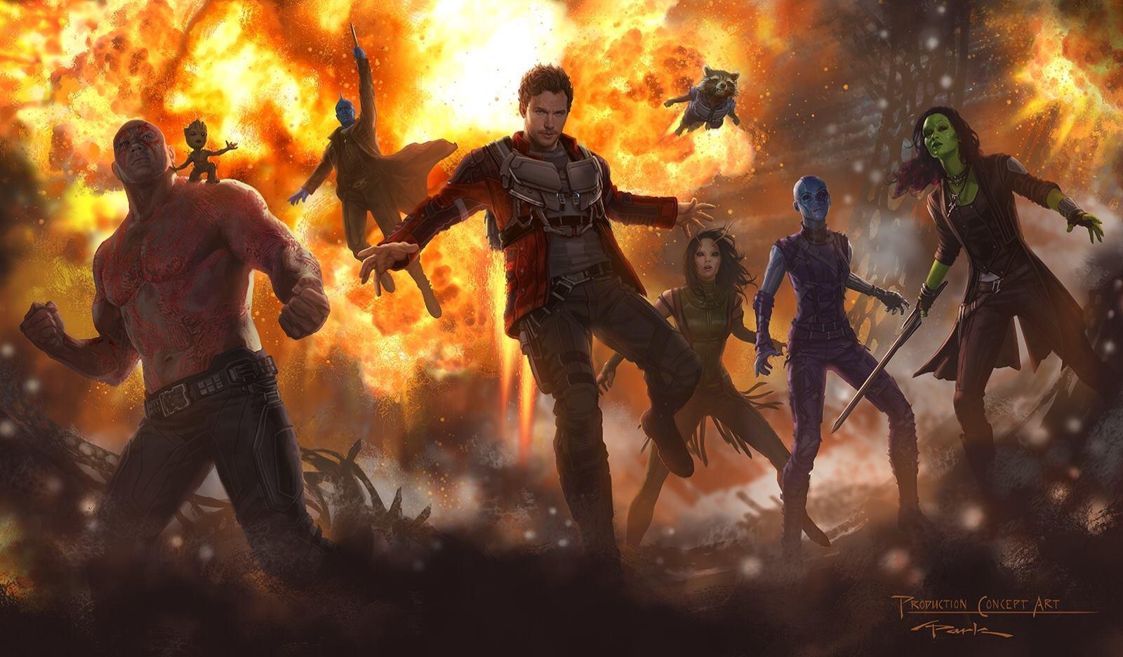 Размещен новый трейлер «Стражей Галактики 2»