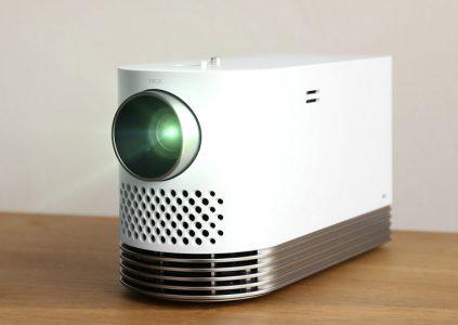 Портативный лазерный проектор для домашнего кинотеатра LG ProBeam характеризуется световым потоком 2000 лм