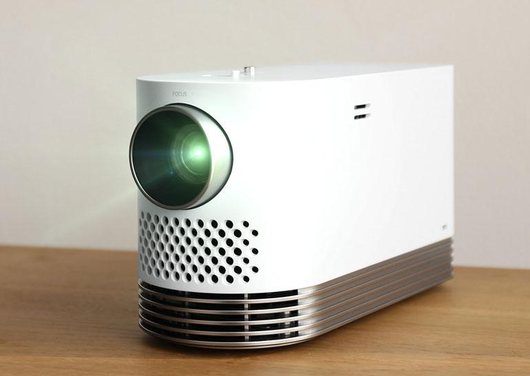 LGProBeam: компактный лазерный проектор идет наCES