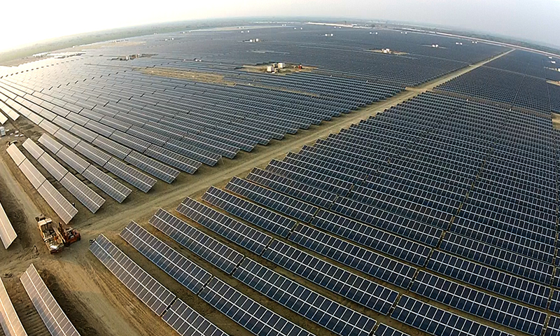 Pakistan setting up world   s largest solar park