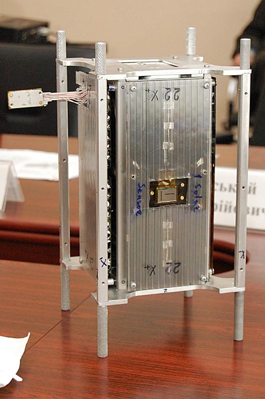 Созданный в КПИ наноспутник PolyITAN-2 запустят в космос в марте 2017 года