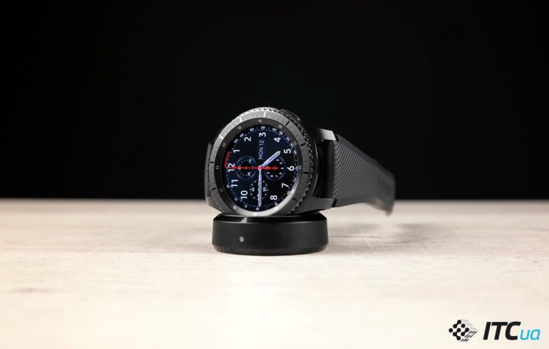 Обзор умных часов Samsung Gear S3 Frontier