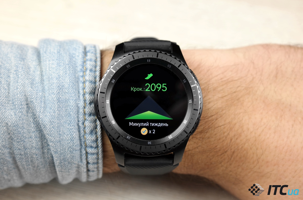 Обзор умных часов Samsung Gear S3 Frontier - ITC.ua adbffae7a589a
