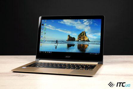 Обзор сверхтонкого ноутбука Acer Swift 7
