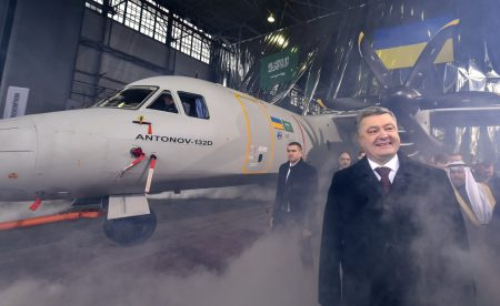 ГП «АНТОНОВ» официально представил в Киеве новейший украинский транспортный самолет АН-132D