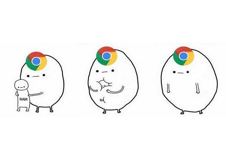Новая версия браузера Chrome 55 использует примерно на 30% меньше оперативной памяти, нежели предыдущая Chrome 54