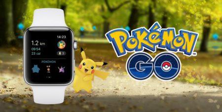 Вышла версия Pokemon Go для умных часов Apple Watch