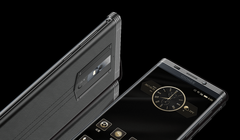 Представлен смартфон Gionee M2017 с аккумулятором емкостью 7000 мА•ч и стоимостью от $1000. За версию с отделкой из кожи крокодила просят $2500