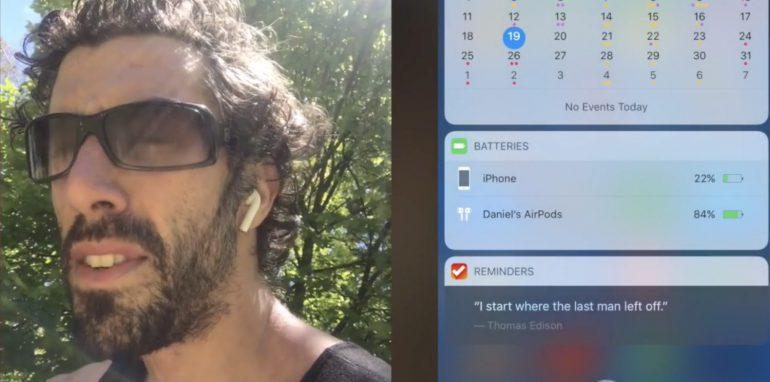 Марафонец протестировал Apple AirPods на тренировке