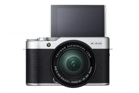 Представлена Fujifilm X-A10 – самая доступная модель популярной линейки беззеркальных камер Fujifilm X-series