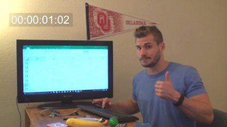 Американский блогер потратил более девяти часов, чтобы дойти до конца таблицы в Microsoft Excel