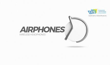 Украинский стартап Concepter анонсировал концептуальные беспроводные наушники Airphones