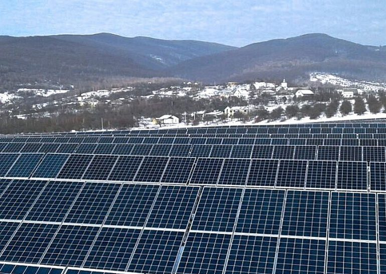 На Закарпатье заработала новая солнечная электростанция мощностью 3,5 МВт