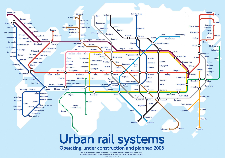 Через государство Украину могут пройти линии будущего метро Hyperloop