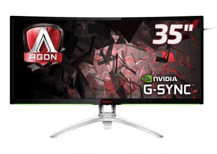 AOC представила 35-дюймовый игровой монитор AGON AG352UCG с изогнутым экраном и поддержкой NVIDIA G-SYNC