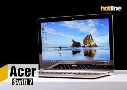 Видеообзор ноутбука Acer Swift 7