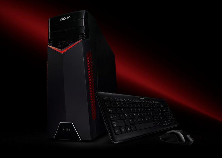 На CES 2017 Acer представила новые ноутбуки серий Aspire VX и V Nitro, а также десктоп Aspire GX