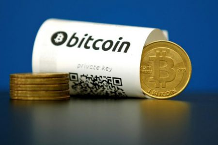 Курс криптовалюты Bitcoin впервые с 2013 года превысил отметку $1000