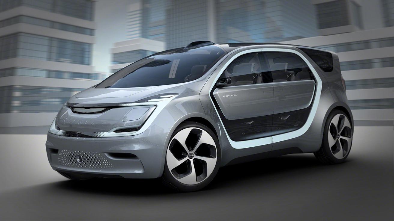 Минивэн Chrysler Portal получил систему распознавания лиц