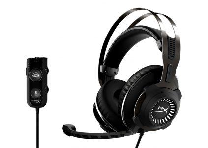 HyperX Cloud Revolver S — флагманская игровая гарнитура с технологией Dolby 7.1 Surround Sound [CES 2017]