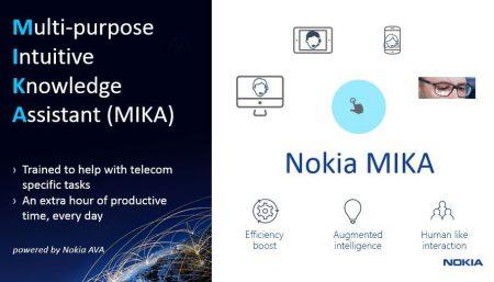 Nokia представила MIKA — первого цифрового ассистента для телеком-индустрии