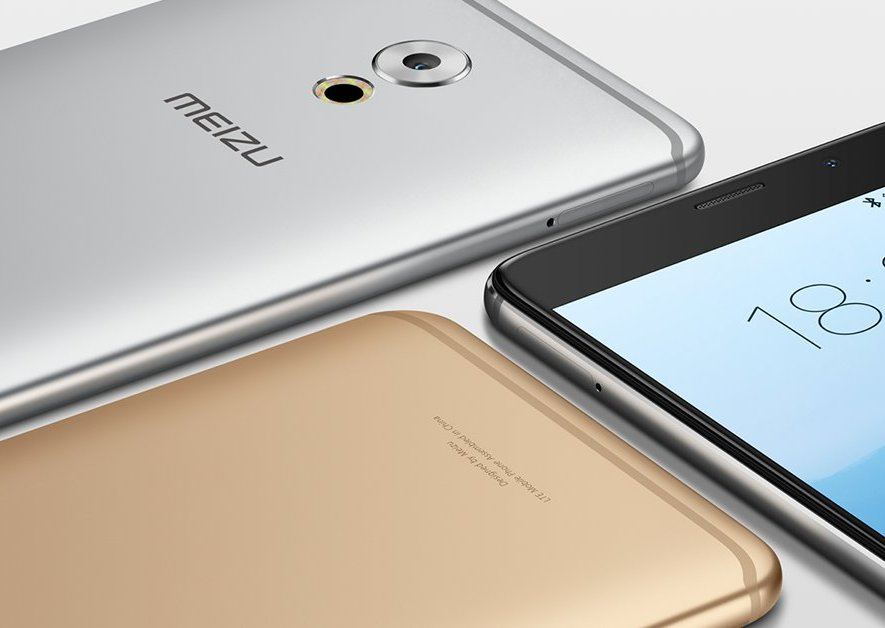 Meizu Pro 7 сизогнутым экраном нафотографии