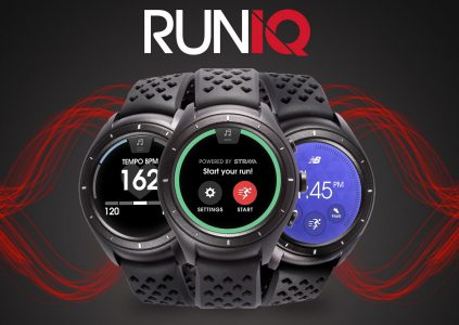 Производитель спортивной одежды New Balance представил свои первые умные часы RunIQ, созданные в содружестве с Intel и Strava [CES 2017]
