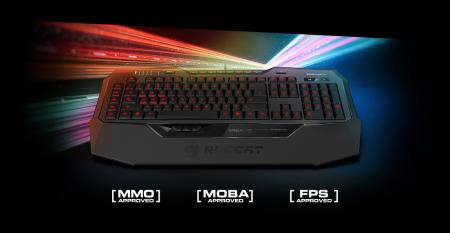 Roccat представила клавиатуру с распознающими степень нажатия кнопками и мышь с новым сенсором разрешением 12 000 точек на дюйм