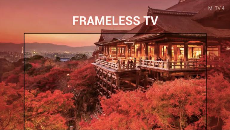 Представлен безрамочный умный телевизор Xiaomi Mi TV 4 толщиной всего 4,9 мм, наделенный системой рекомендаций контента на основе ИИ