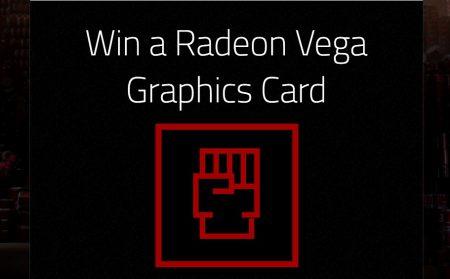 AMD разыгрывает видеокарту Vega