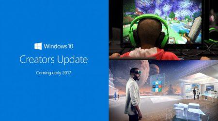 Выход обновления Windows 10 Creators Update ожидается в апреле