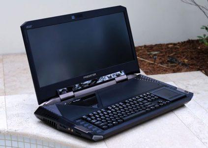 Монструозный игровой ноутбук Acer Predator 21 X с двумя видеокартами NVIDIA GeForce GTX 1080 X стоит $9 тыс.