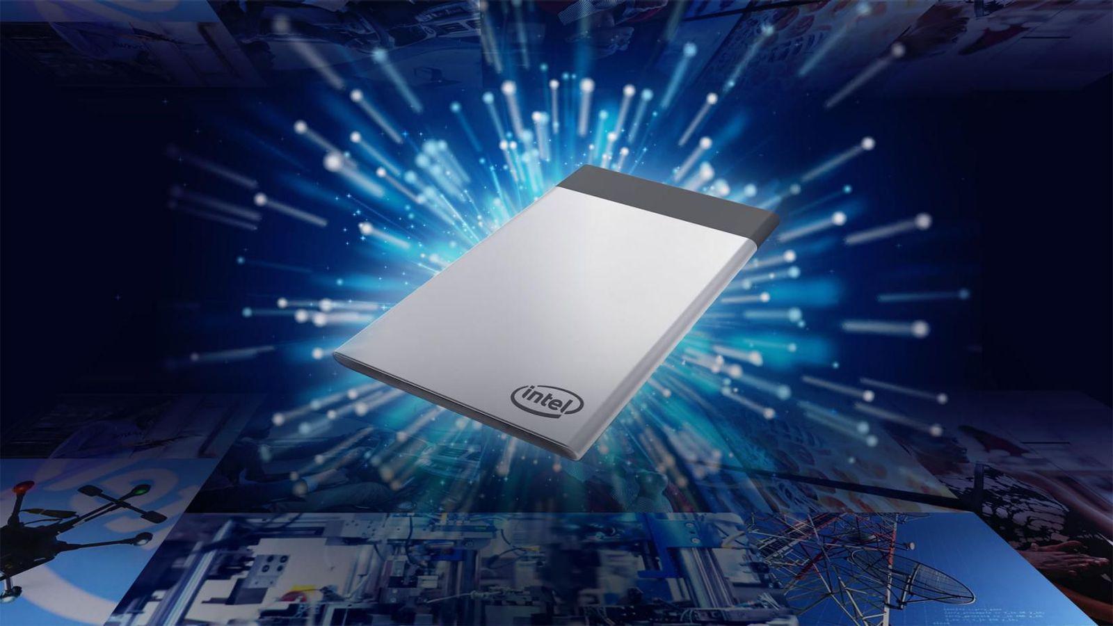 Intel Compute Card— компьютер размером скредитную карту